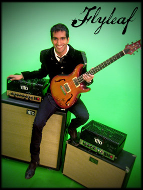Flyleaf's Sameer Bhattacharya and his THD gear